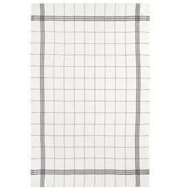 "Charvet Editions Charvet Editions - Bistro/Tea Towel Black/White Bistro Lave - 20""x30"""