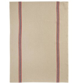 "Charvet Editions - Bistro/Tea Towel Natural Drapeau - 21""x30"""