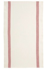 "Charvet Editions - Bistro/Tea Towel Red Lustucru - 18""x30"""