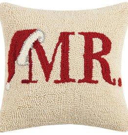 """Pillow - Mr. Claus - 14"""" x 14"""""""