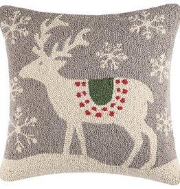 """Pillow - Scandinavian Deer - 18"""" x 18"""""""