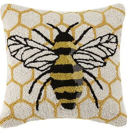 Honeycomb Bee Pillow 16 x 16