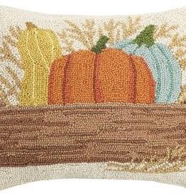 """Pillow - Box of Pumpkins 14"""" x 18"""""""