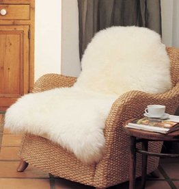 Sheepskin Rug Ivory - Single