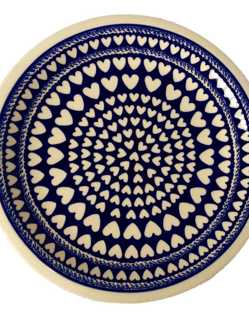 Dinner Plate - Hearts