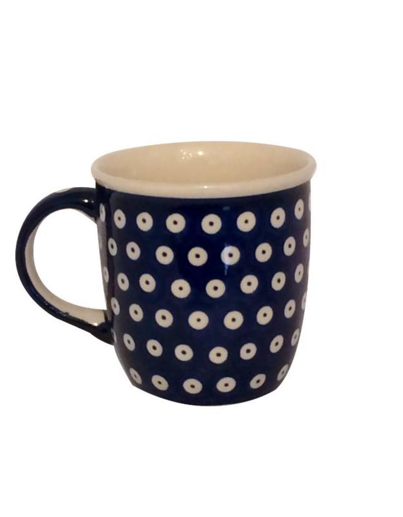 Mug - Blue w/ White Dots
