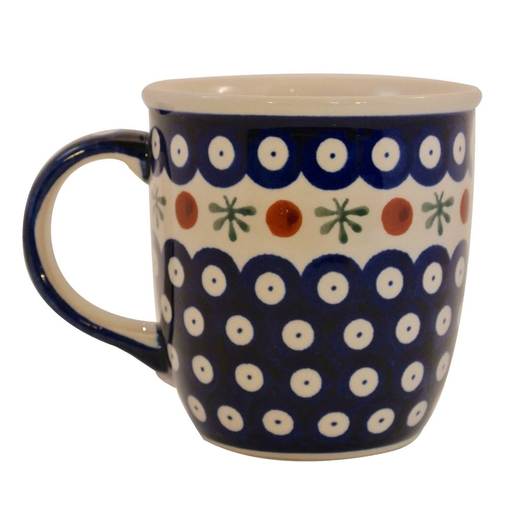 Polish Pottery Mug Perfect For Coffee Tea Or Your Favorite Drink European Splendor