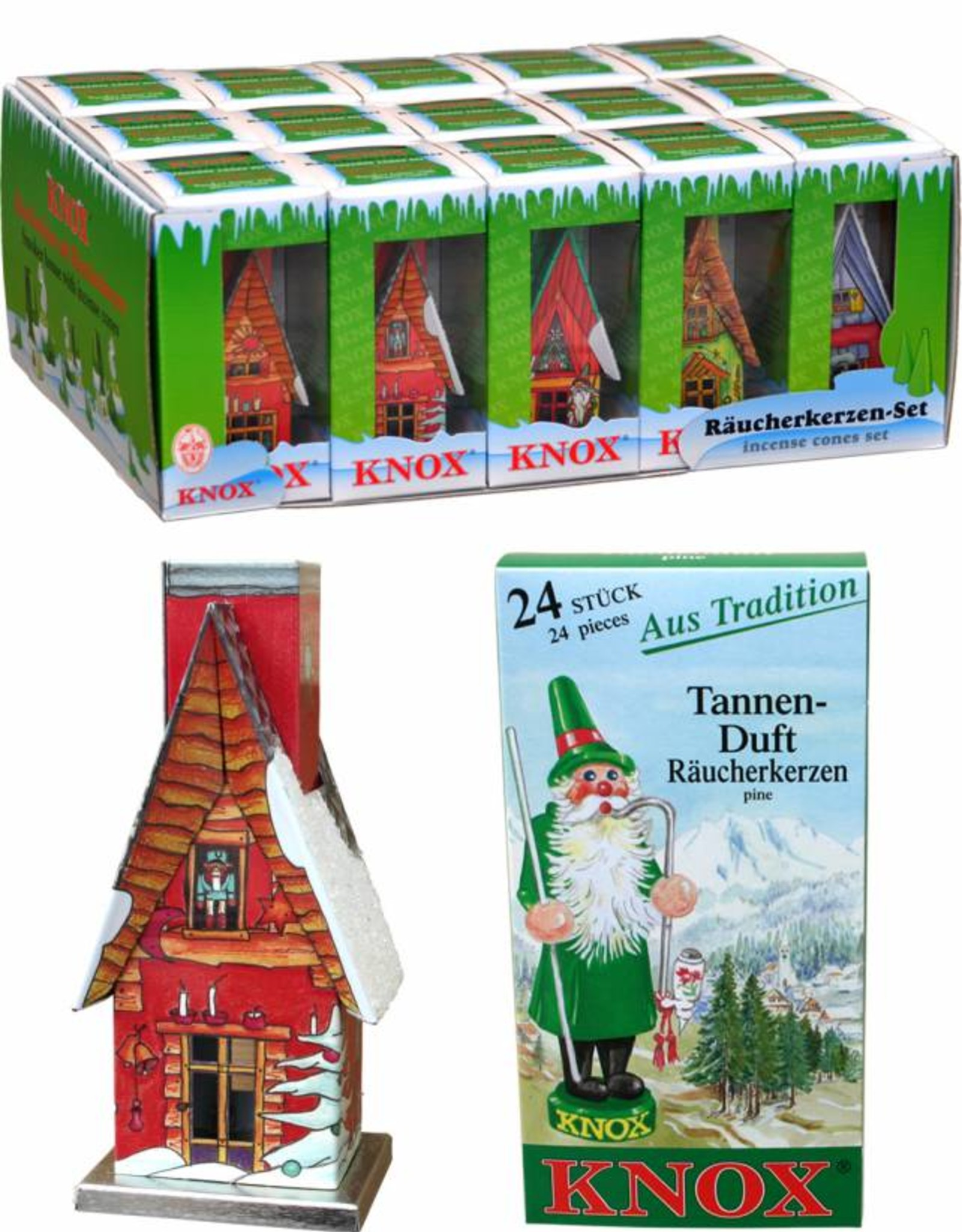 German Smoker Hut with Incense