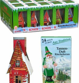German Smoker Hut with Incense