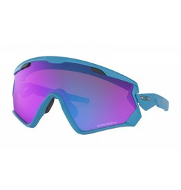 Oakley Oakley Wind Jacket 2.0 Matte Sky Blue w/ Prizm Sapphire