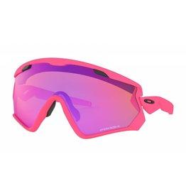 Oakley Oakley Wind Jacket 2.0 Matte Neon Pink w/ Prizm Trail