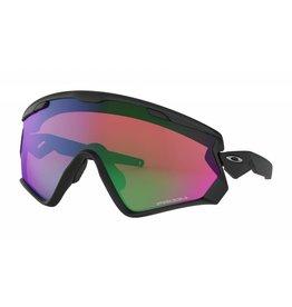 Oakley Wind Jacket 2.0 Matte Black w/ Prizm Snow Jade
