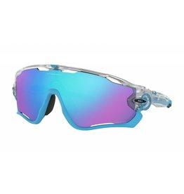 Oakley Oakley Jawbreaker Matte Clear w/ Prizm Sapphire