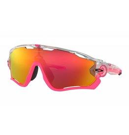 Oakley Oakley Jawbreaker Matte Clear w/ Prizm Ruby