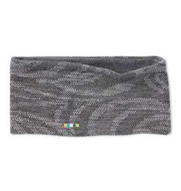 Smartwool Smartwool Merino 250 Pattern Reversible Headband Black Snow Swirl