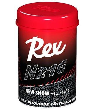 Rex N21G Black New Snow Kick Wax 45g