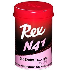 Rex N41 Pink Old Snow Kick Wax 45g