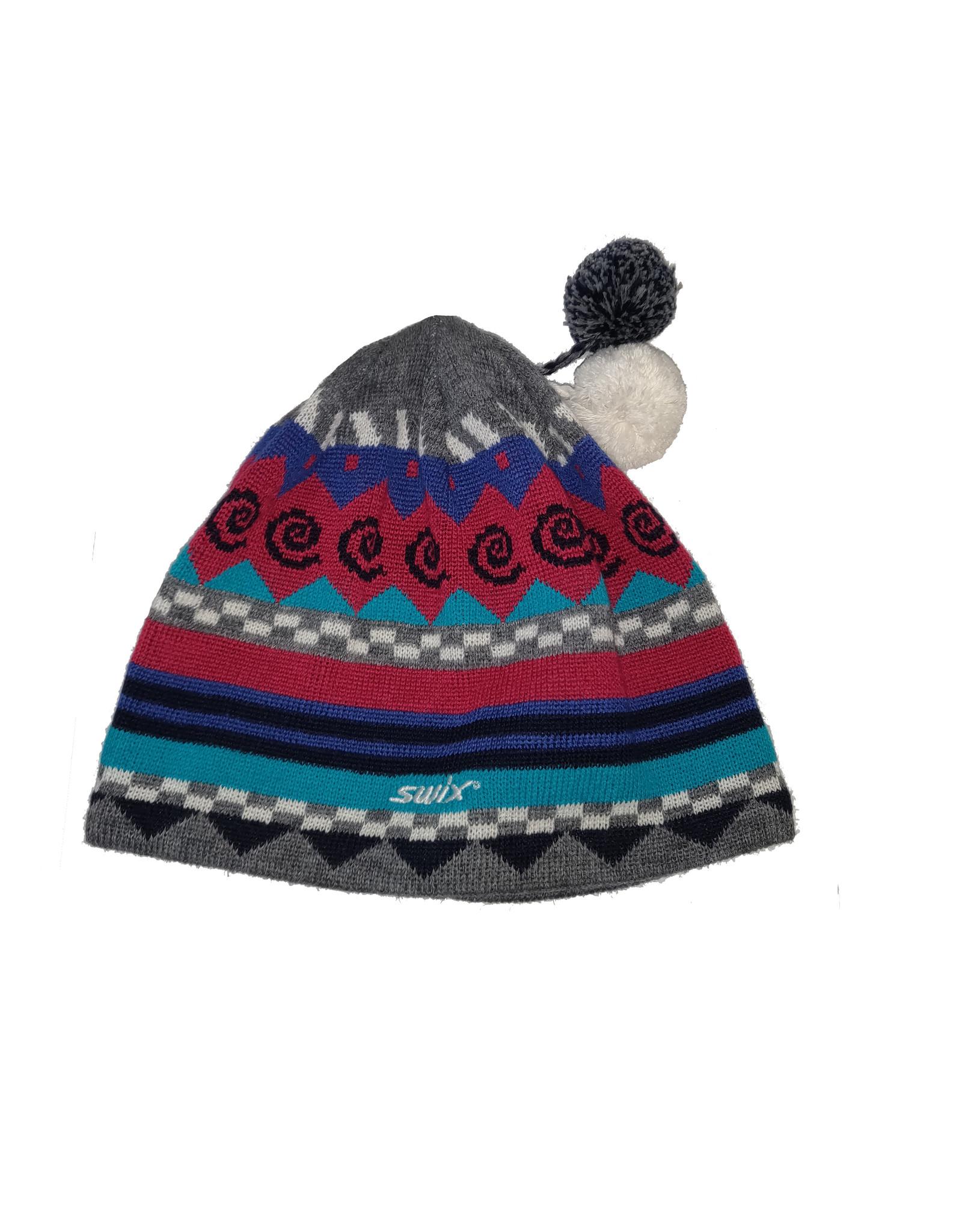 Swix Dunn Hat Azalea Pink/Scuba Blue