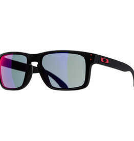 Oakley Holbrook Matte Black w/ Red Iridium