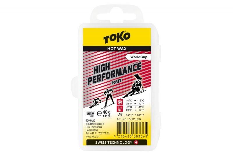 Toko Toko High Performance Red 40g