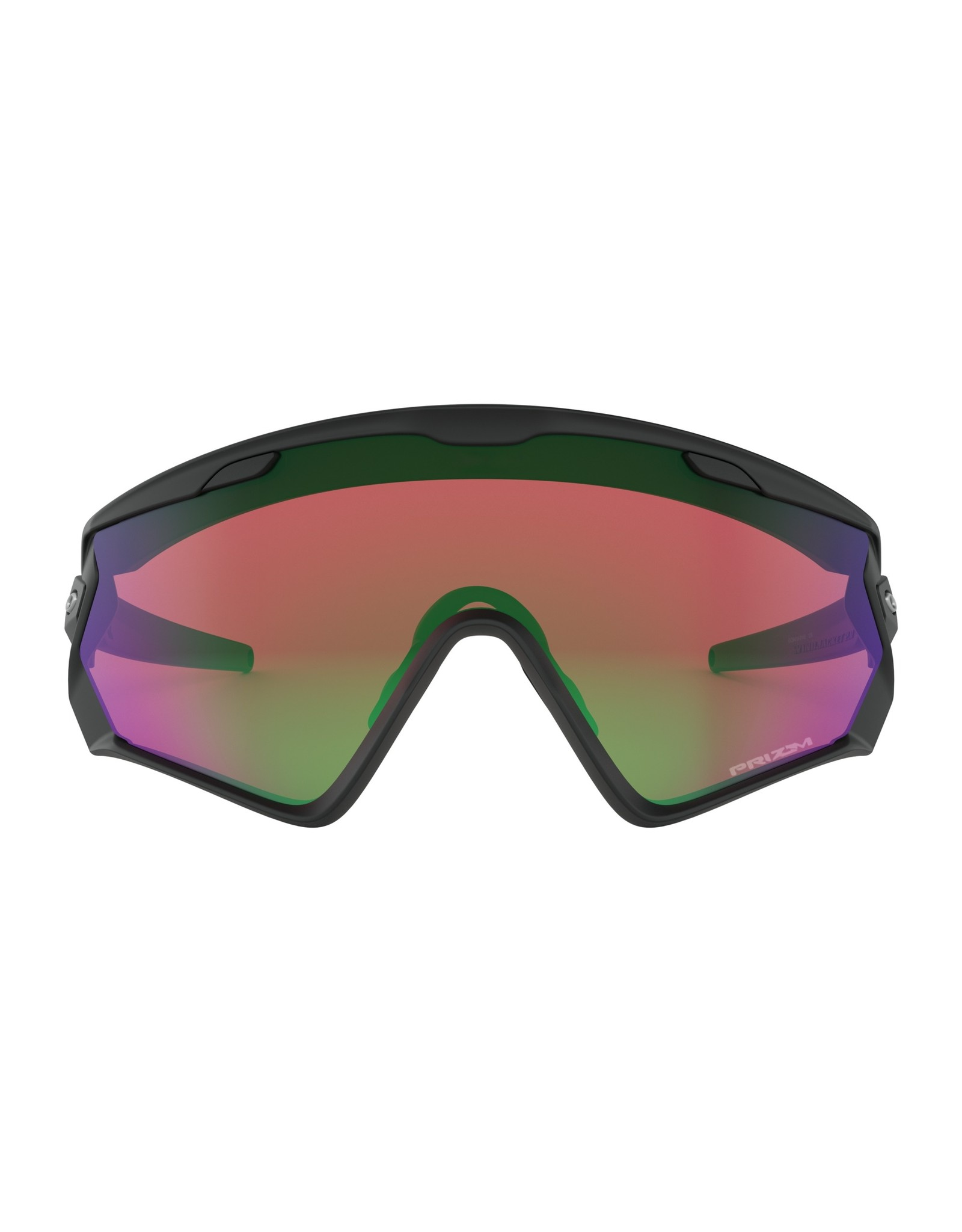 Oakley Wind Jacket 2.0 Matte Black w/ Prizm Snow Jade