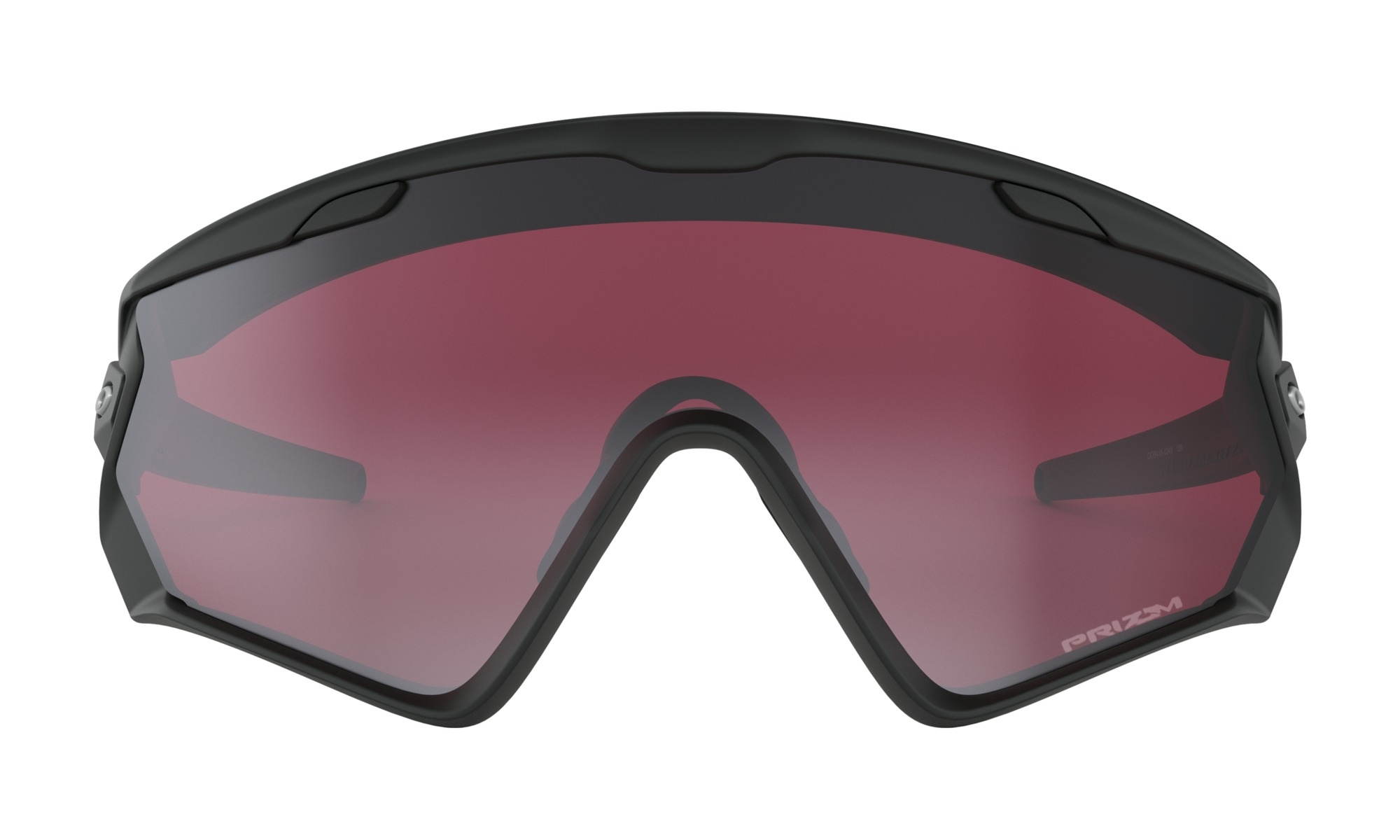 Oakley Wind Jacket 2.0 Matte Black w/ Prizm Snow Black