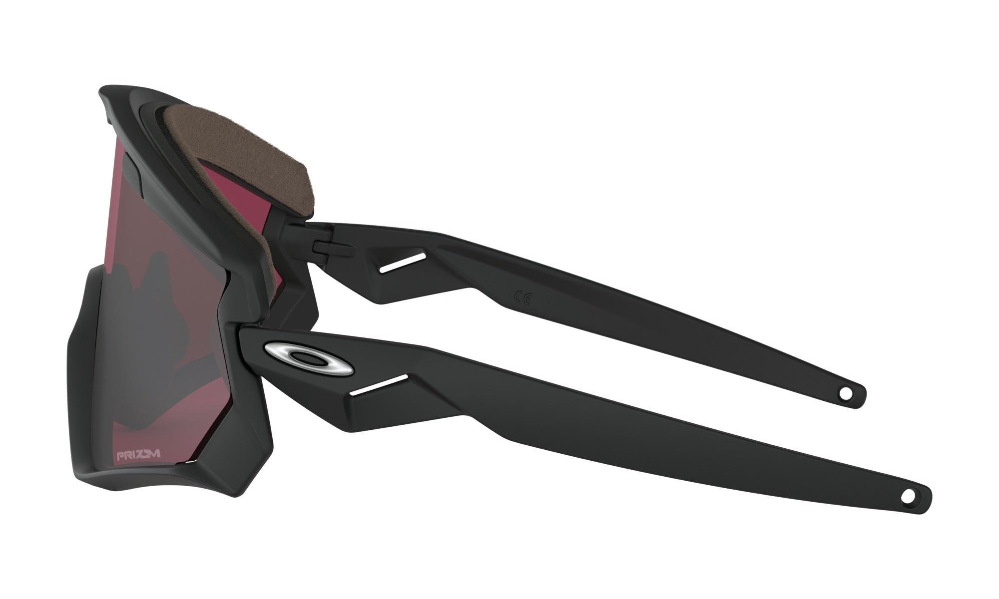 Oakley Oakley Wind Jacket 2.0 Matte Black w/ Prizm Snow Black