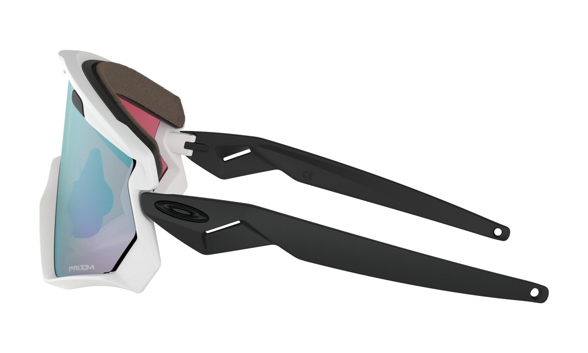 Oakley Oakley Wind Jacket 2.0 Matte White w/ Prizm Snow Sapphire