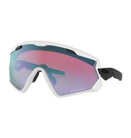 Oakley Wind Jacket 2.0 Matte White w/ Prizm Snow Sapphire