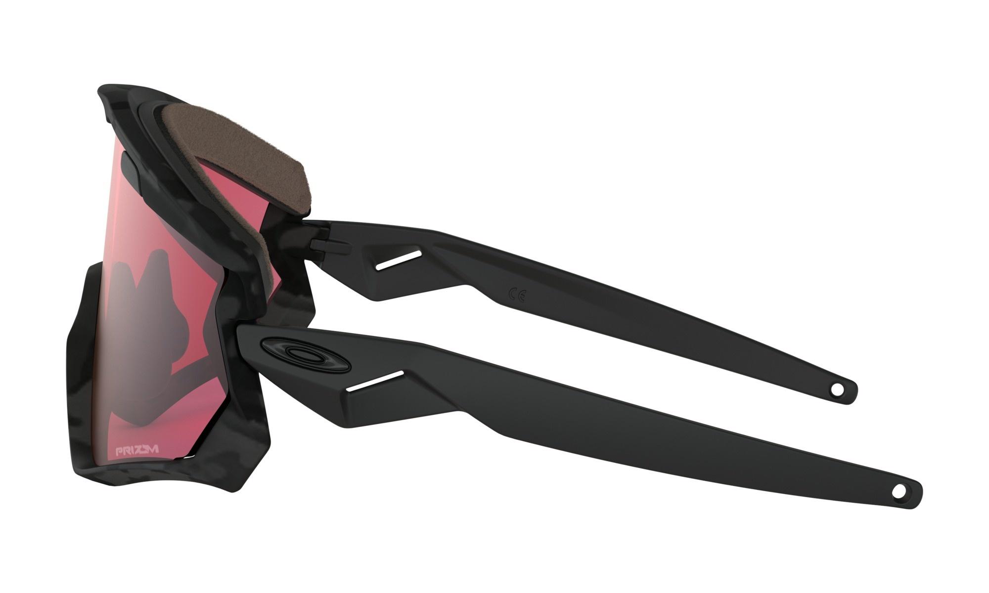 Oakley Oakley Wind Jacket 2.0 Night Camo w/ Prizm Snow Torch