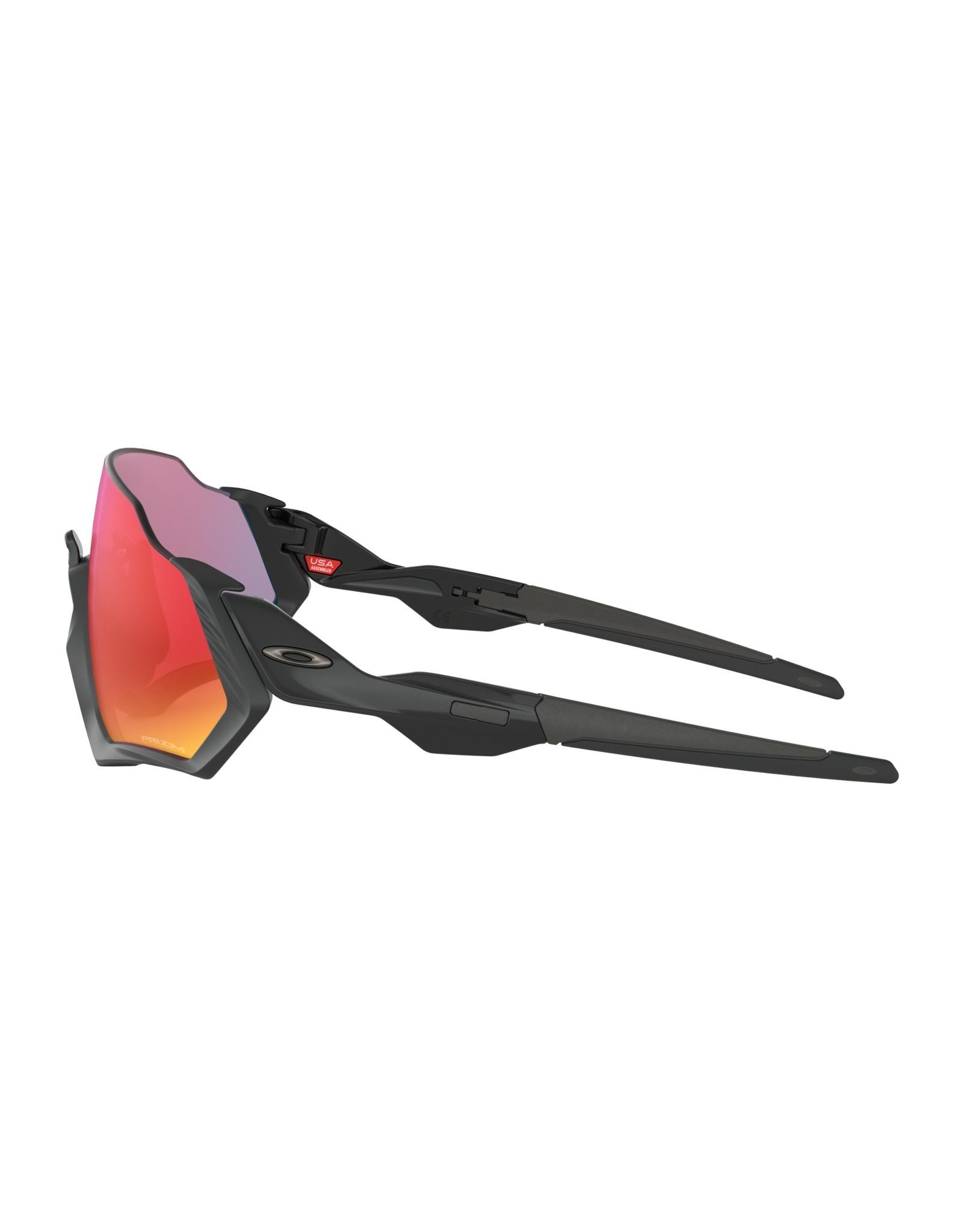 Oakley Flight Jacket Matte Black w/ Prizm Road