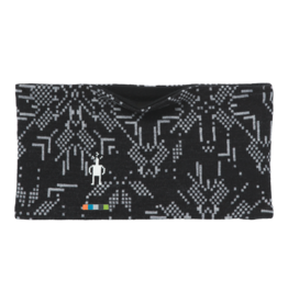 Smartwool Merino 250 Pattern Reversible Headband Black Digital Snowflake