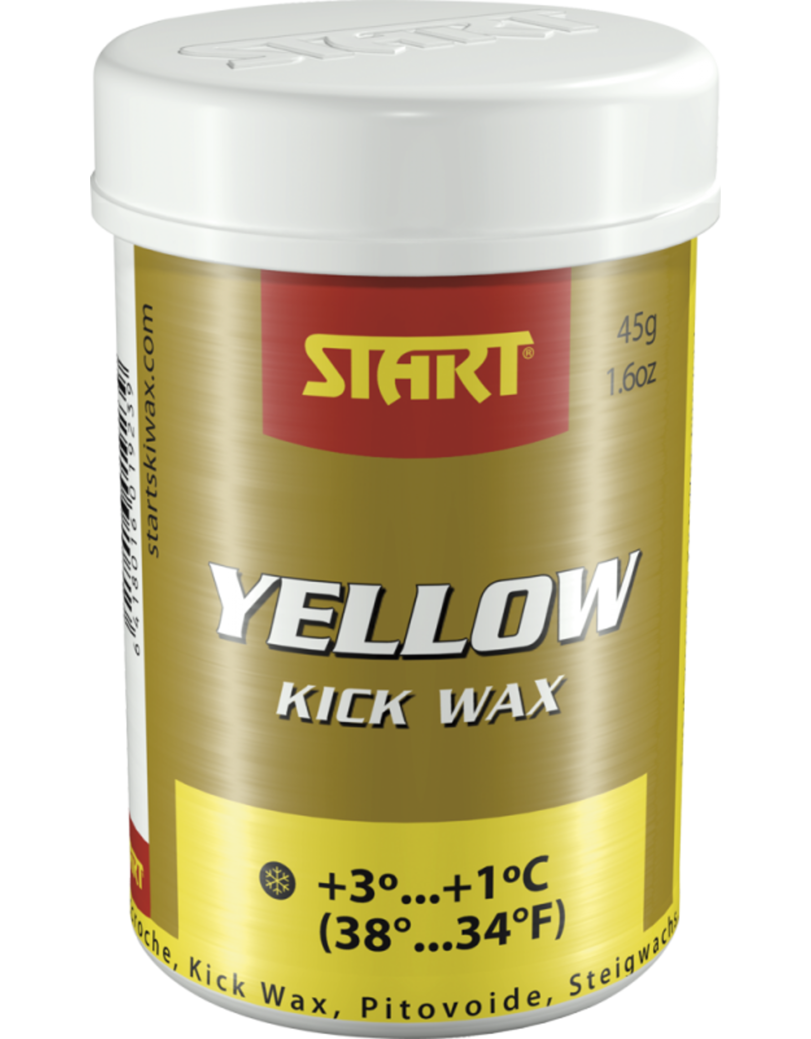 Start Synthetic Kick Wax Yellow 45g