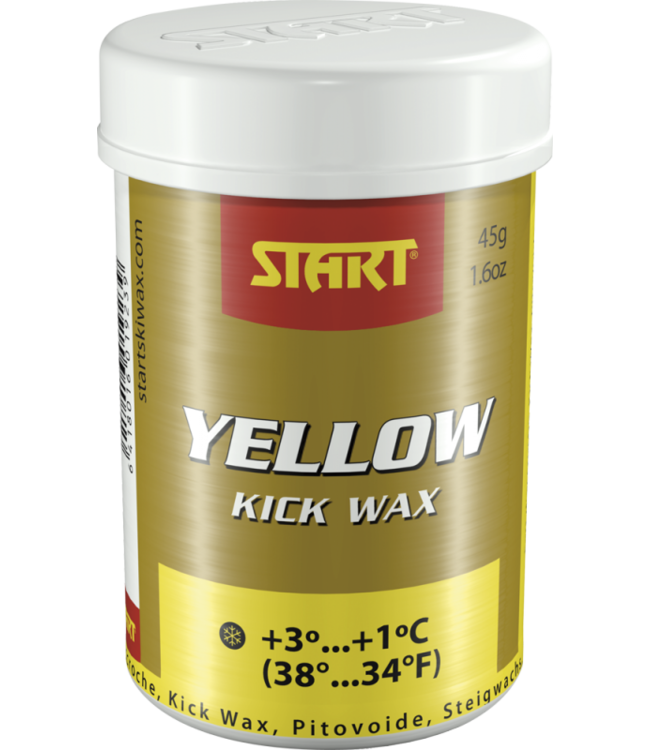 Start Synthetic Kick Wax Yellow 45g