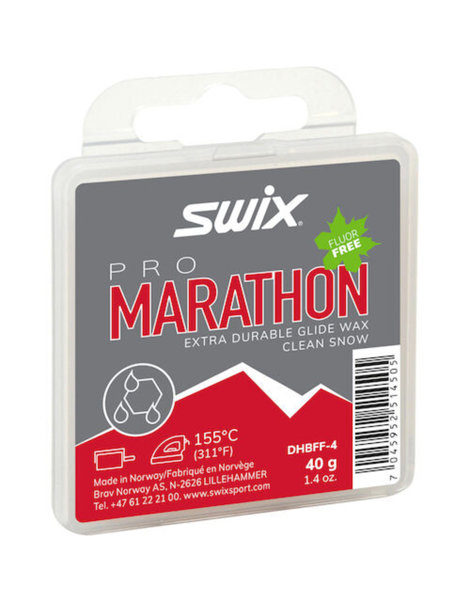 Swix Pro Marathon Black 40g