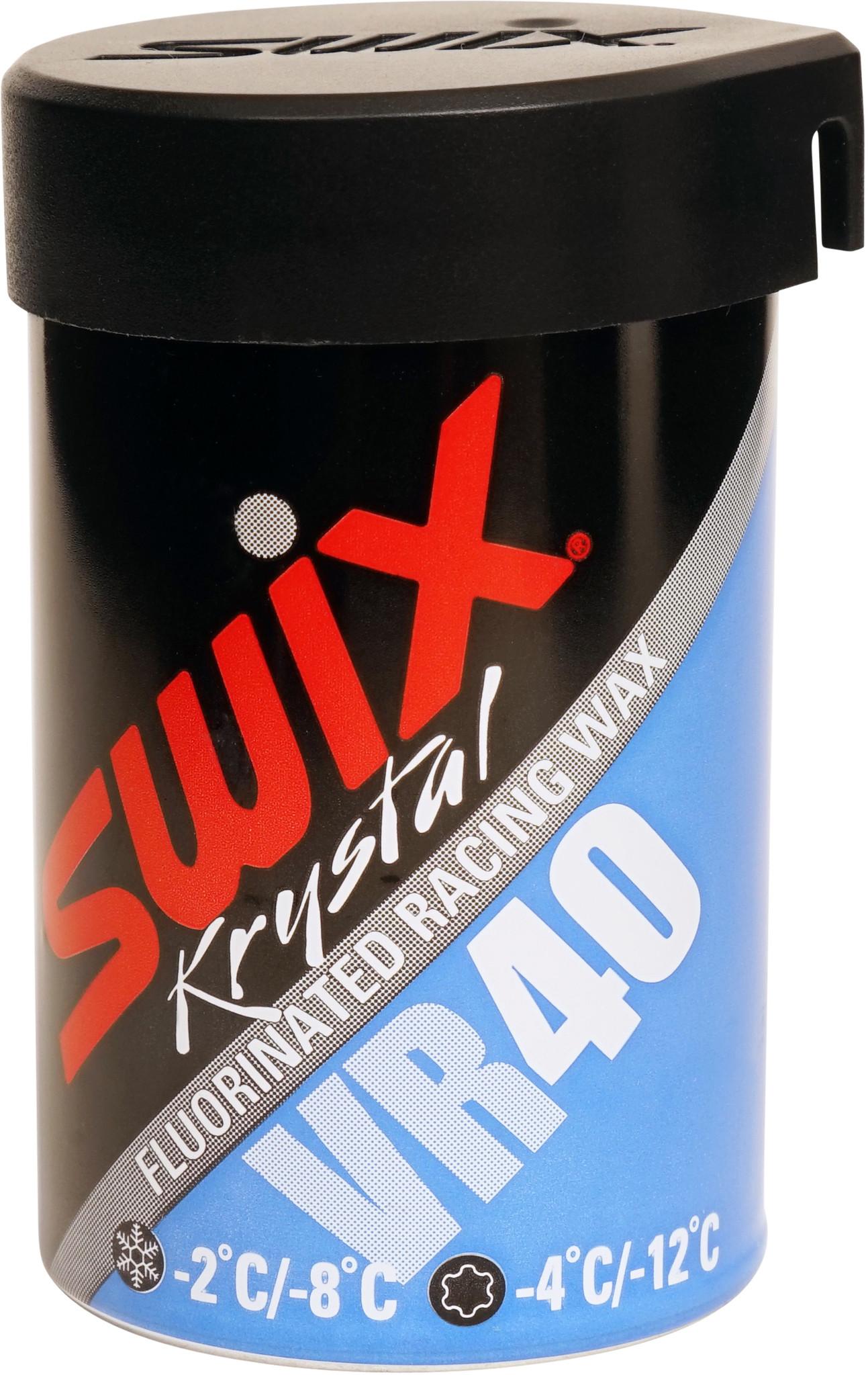 Swix VR40 Blue Fluorinated Kick Wax 45g