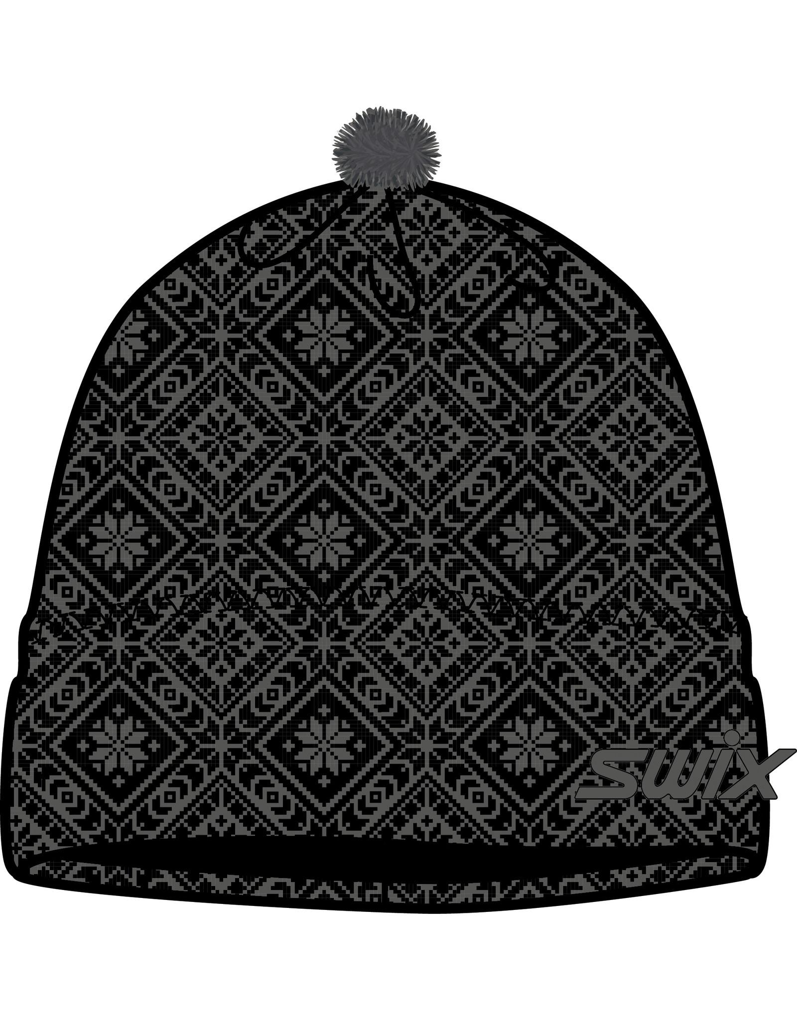 Swix Myrene Hat Black Magnet Print