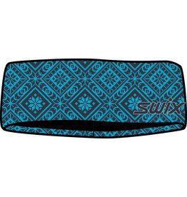 Swix Myrene Headband Cyan Blue Print