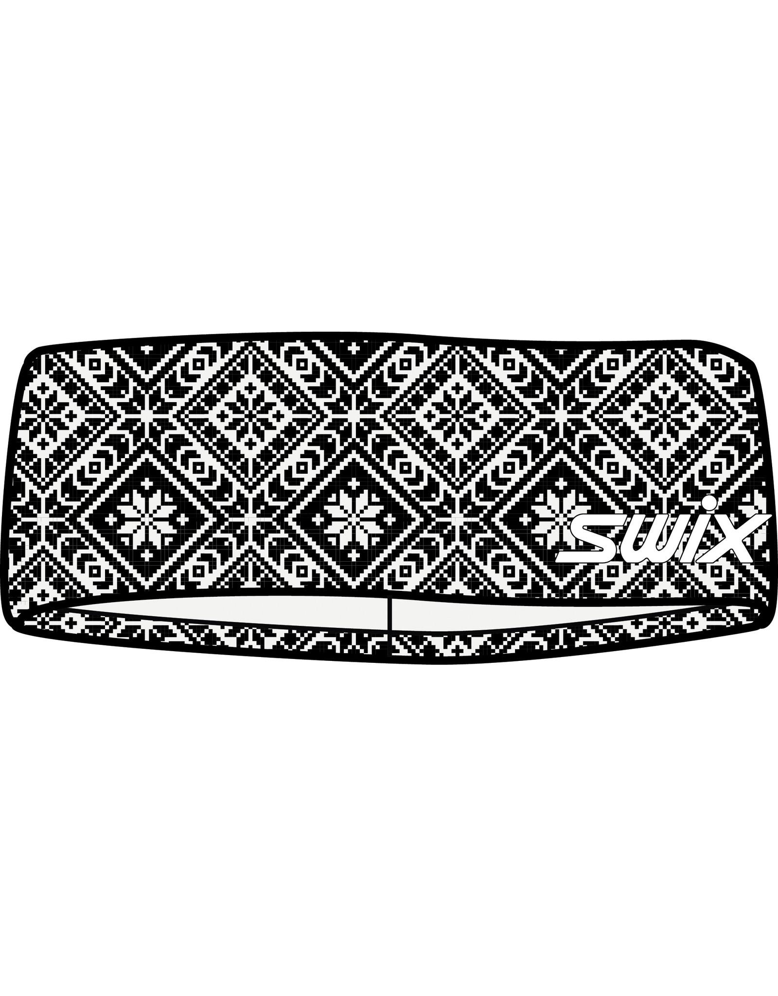 Swix Myrene Headband Black/White Print
