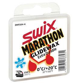 Swix DHF104 White Marathon Glide Wax 40g