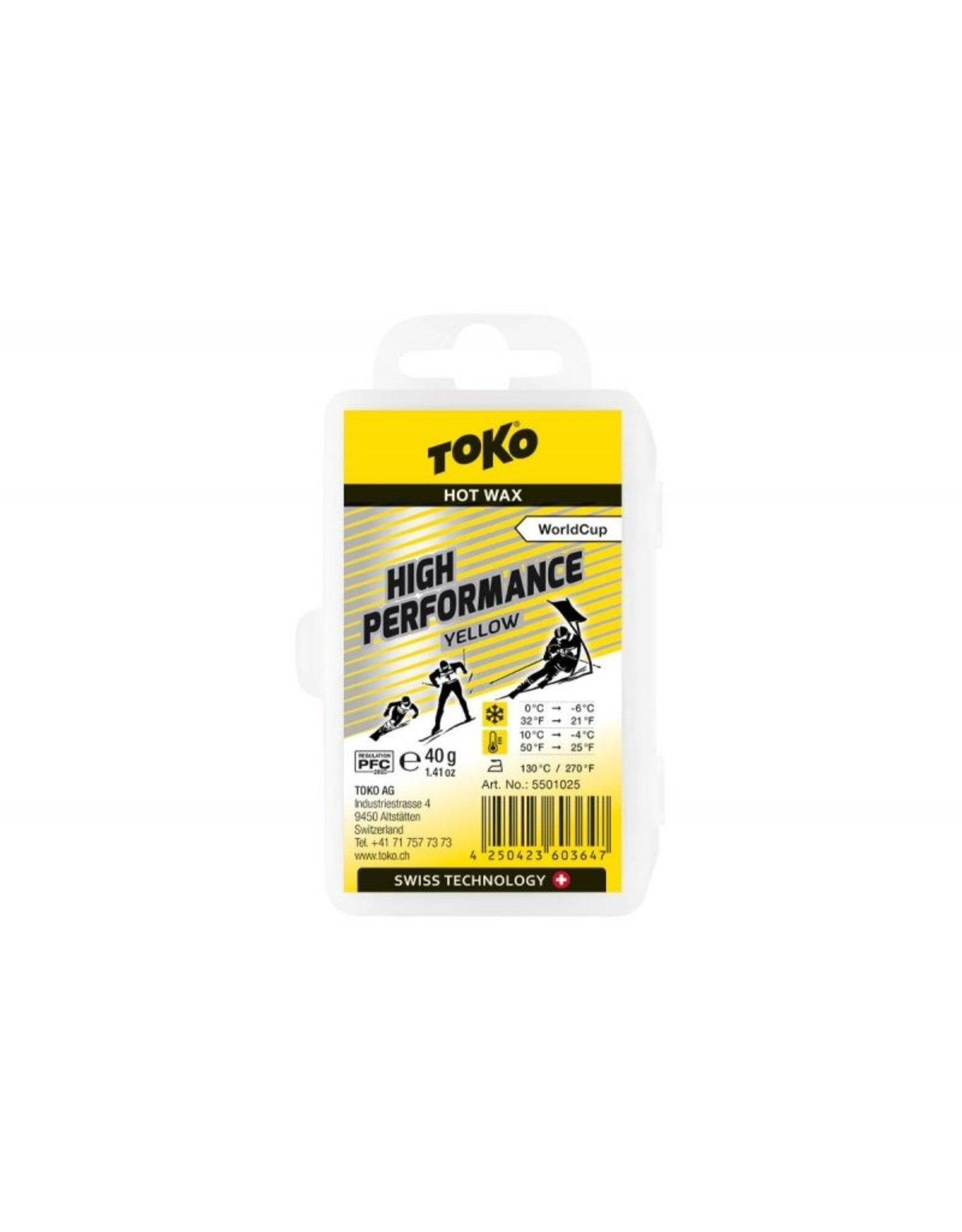 Toko High Performance Yellow 40g
