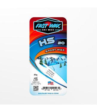 Fast Wax Sport Wax HS-20 Blue 80g