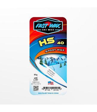 Fast Wax Sport Wax HS-40 Yellow 80g