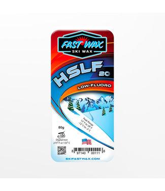 Fast Wax Low Fluoro HSLF-20 Blue 80g