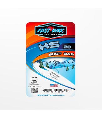 Fast Wax Shop Bar HS-20 Blue 500g