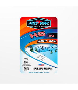 Fast Wax Shop Bar HS-30 Red 500g