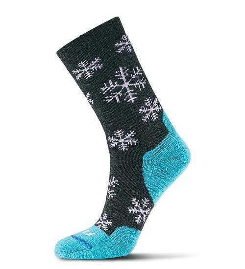 Fits Medium Hiker Snowflake Crew