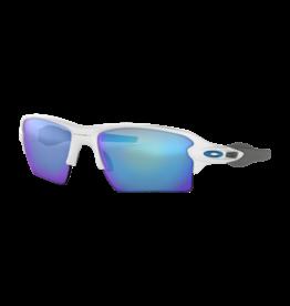 Oakley Flak 2.0 XL Polished White w Prizm Sapphire