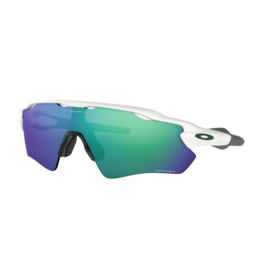 Oakley Radar EV Path Polished White w/ Prizm Jade