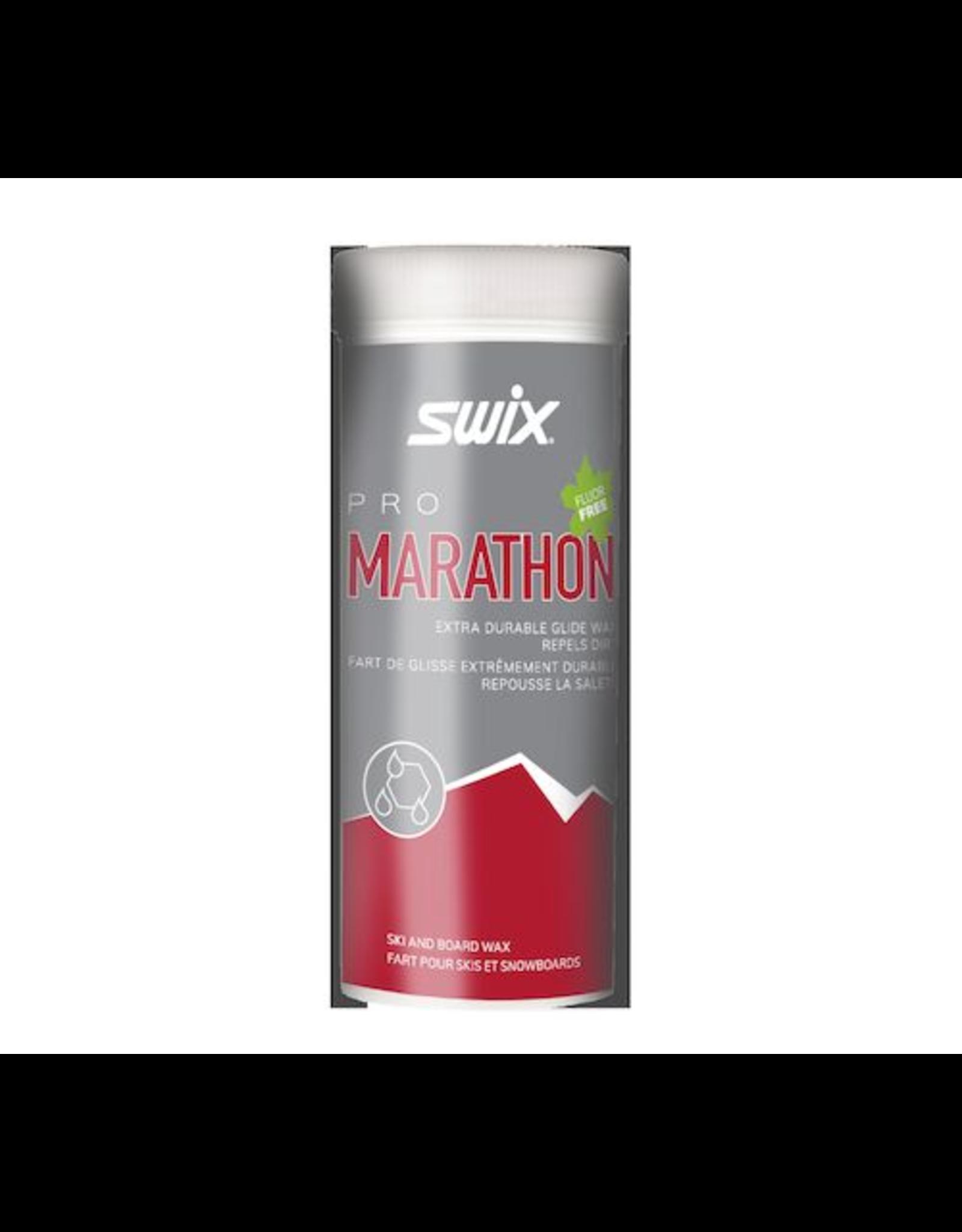Swix Pro Marathon Powder Black 40g